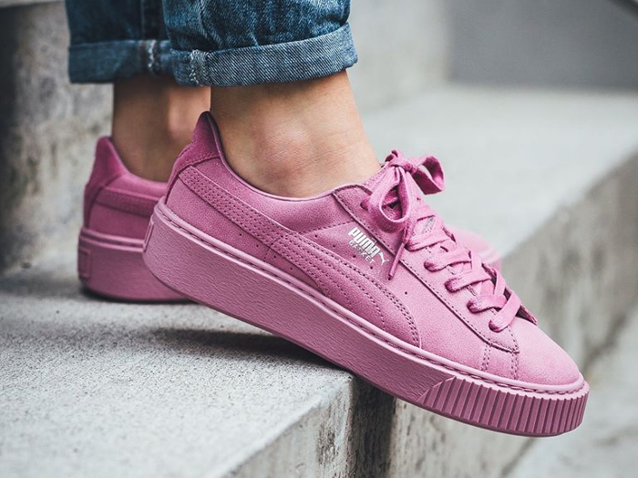Puma Basket Platform Reset 'Prism Pink'