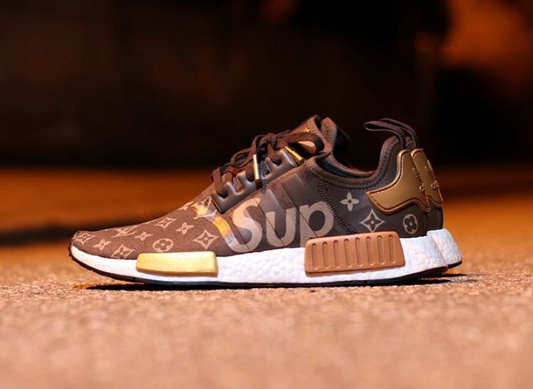 Supreme x Louis Vuitton x Adidas NMD R1 - @sneakers_and_bonsai