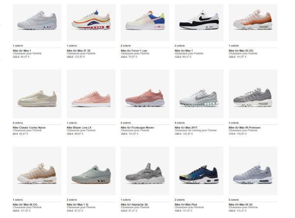 Code promotion Nike Store.fr (juillet 2018)
