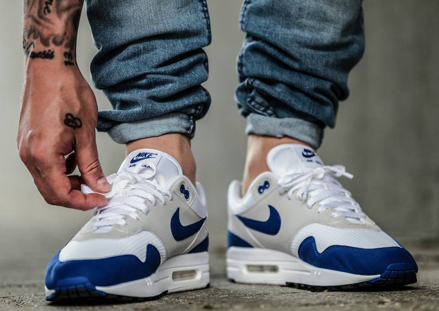 Restock Nike Air Max 1 OG 'Blue' Game Royal Anniversary 2017