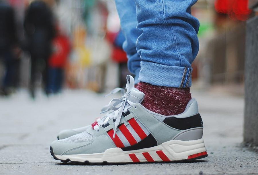 Adidas EQT Support 93 Scarlet Red - @sugycyphersons