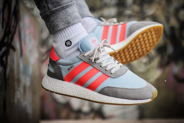 Adidas Iniki Runner Solid Grey - @orangejunglesoles