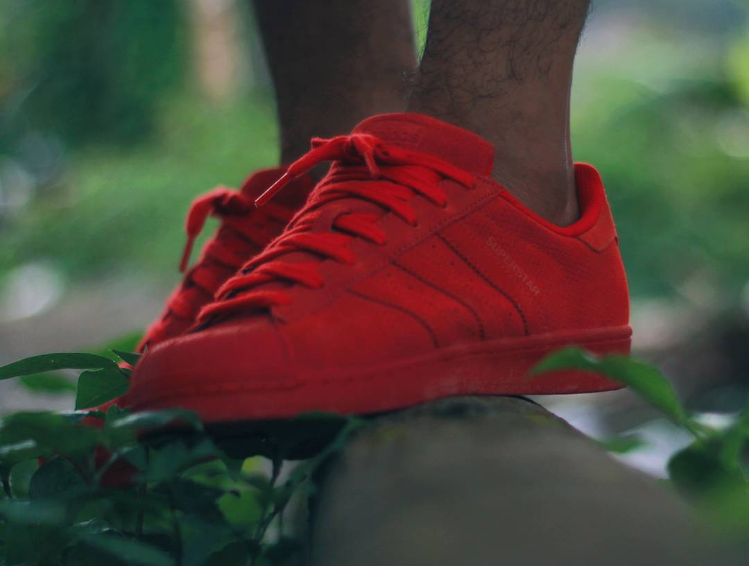 Adidas Superstar RT Mono Suede Red - @yusufth