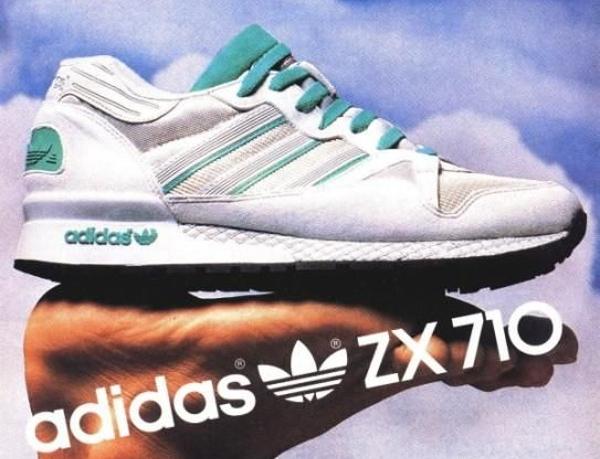 Adidas ZX 710 publicité vintage 1987