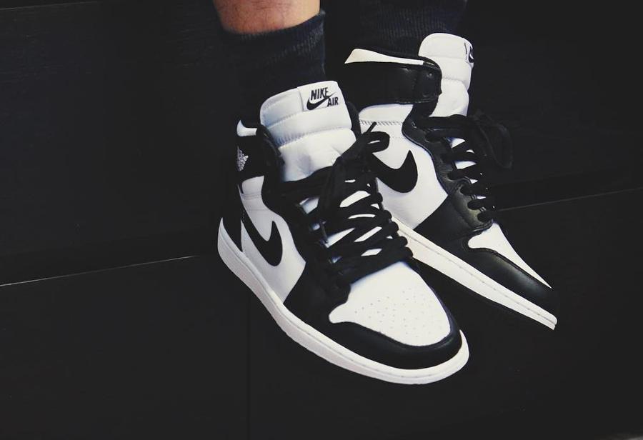 Air Jordan 1 High Retro Black White - @jonomfg