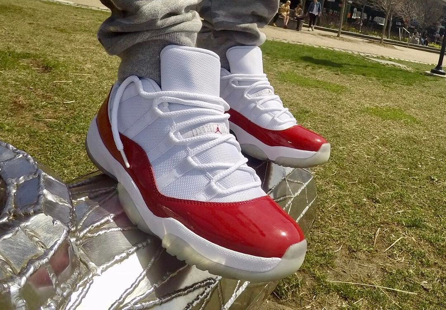 Air Jordan 11 Retro Low Cherry - @soler_energy
