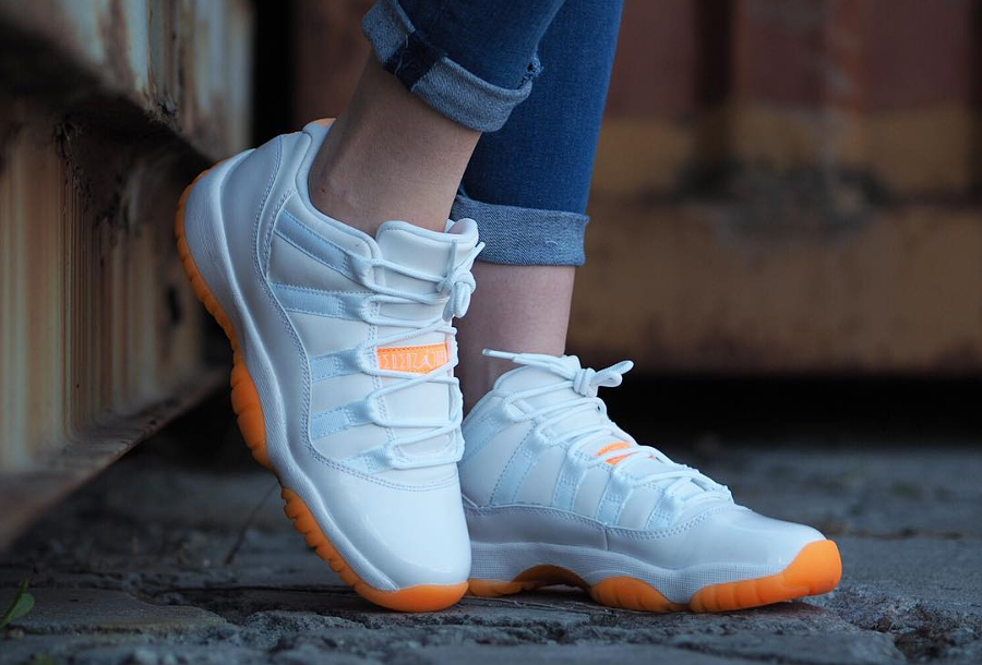 Air Jordan 11 Retro Low Citrus - @kiminkicks