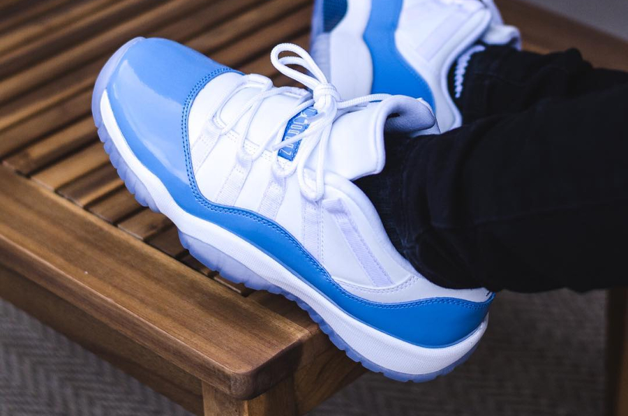 Air Jordan 11 Retro Low University Blue - @tucsonlaces