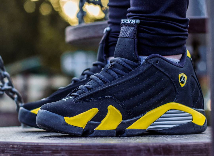 Air Jordan 14 Retro Thunder - @yo_zoraa