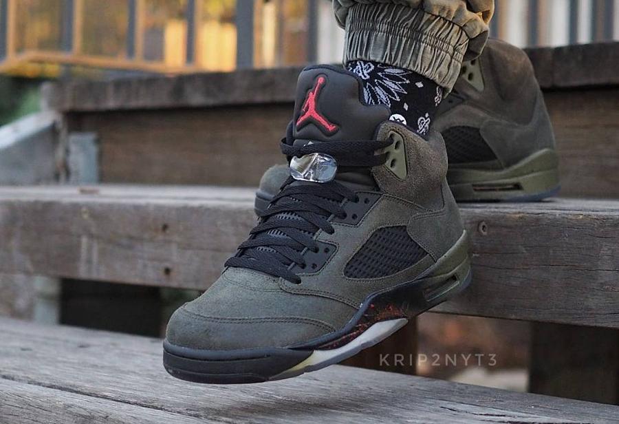 Air Jordan 5 Retro Fear - @krip2nyt3