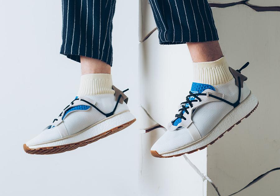 Alexander Wang x Adidas AW Run Ultra Boost blanche (lacets)