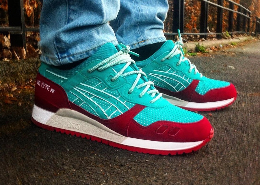Asics Gel Lyte 3 Spectra Green - @raisinoux