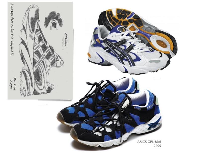 Asics Gel Mai OG 1999 x Nike Air Footscape