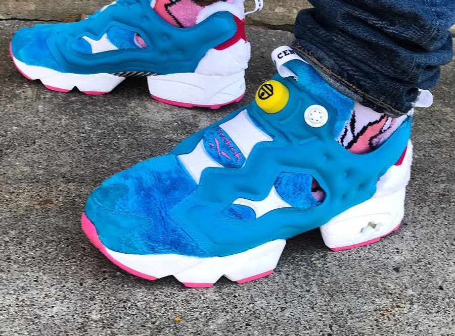 Atmos x Packer Shoes x Reebok Insta Fury Pump Doraemon - @jakemontana