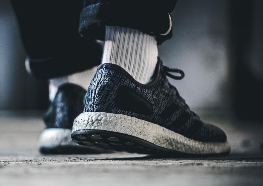 Basket Adidas Pure Boost Limited Dark Grey (2)