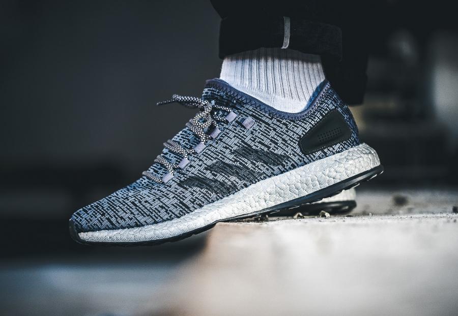 Basket Adidas Pure Boost Limited Dark Grey (3)