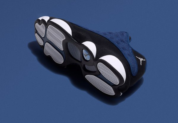 Basket Air Jordan 13 Retro Low Brave Blue (1)
