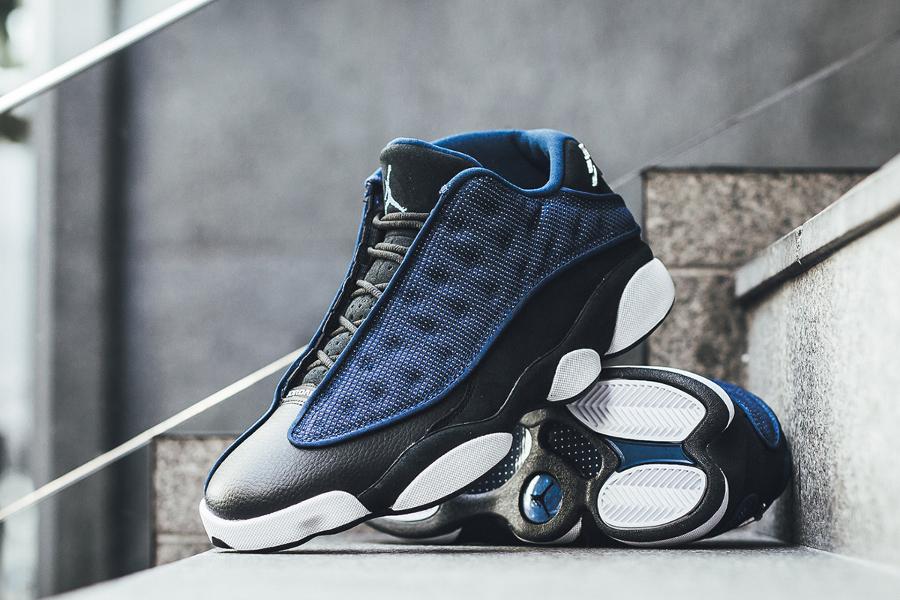 Basket Air Jordan 13 Retro Low Brave Blue (3)