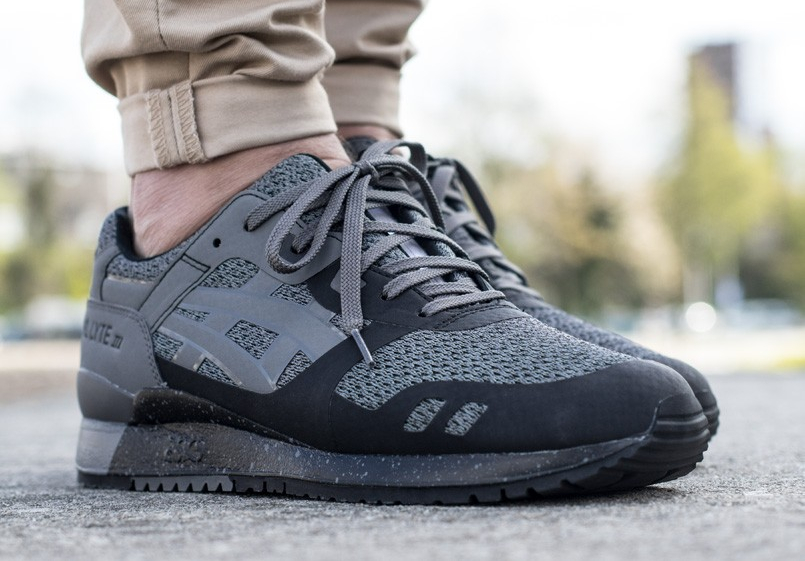 Basket Asics Gel Lyte 3 NS Carbon Black (1)