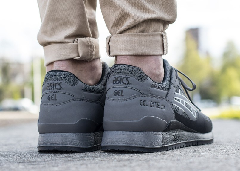 Basket Asics Gel Lyte 3 NS Carbon Black (2)