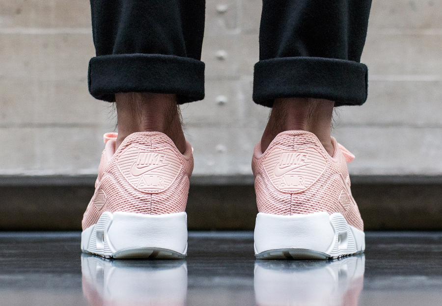 sale retailer eb1c1 e2390 Basket Nike Air Max 90 Ultra 2.0 BR rose pastel (2)