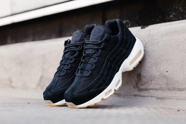Nike Air Max 95 Premium Suede 'Black'