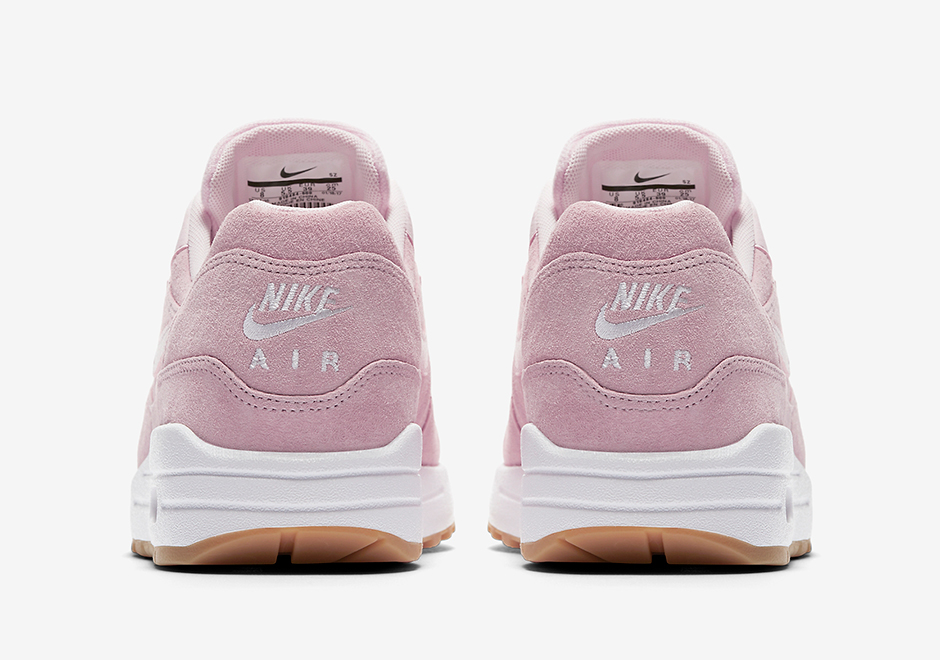 Basket Nike Wmns Air Max 1 Pink Suede (4)