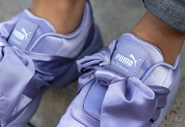 Basket Rihanna x Puma Wmns Bow Sneaker Sweet Lavender (1)