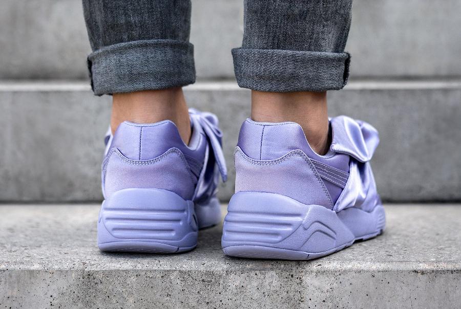 Basket Rihanna x Puma Wmns Bow Sneaker Sweet Lavender (2)