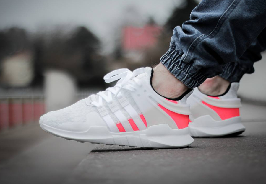 Chaussure Adidas EQT Support ADV Blanche Crystal White (1-1)