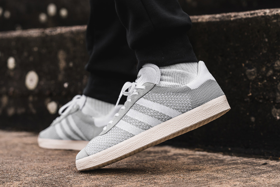 where can i buy factory outlets cheap for sale Adidas Gazelle PK Primeknit Grise 'Clear Onix'