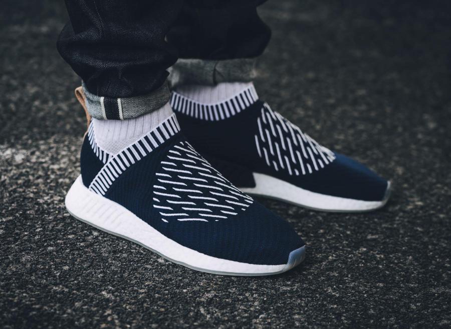 Chaussure Adidas NMD CS2 City Sock PK Ronin Navy (1)