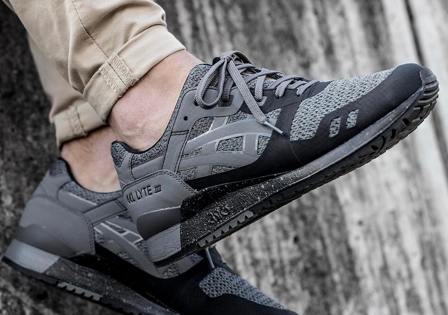 Chaussure Asics Gel Lyte 3 III NS No Sew Carbon Black (1)