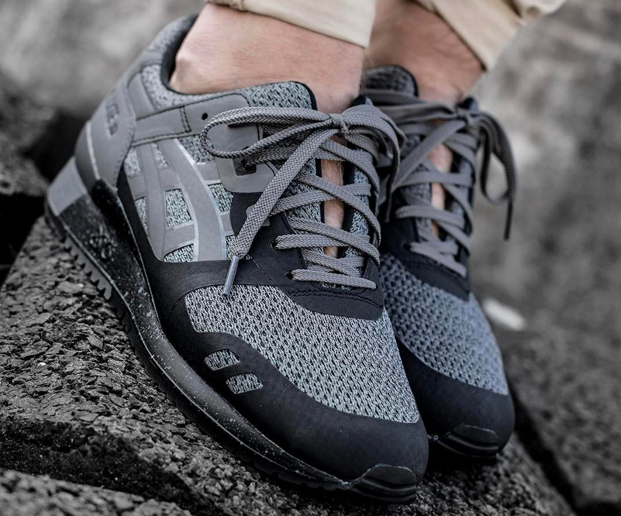 Chaussure Asics Gel Lyte 3 III NS No Sew Carbon Black (2)