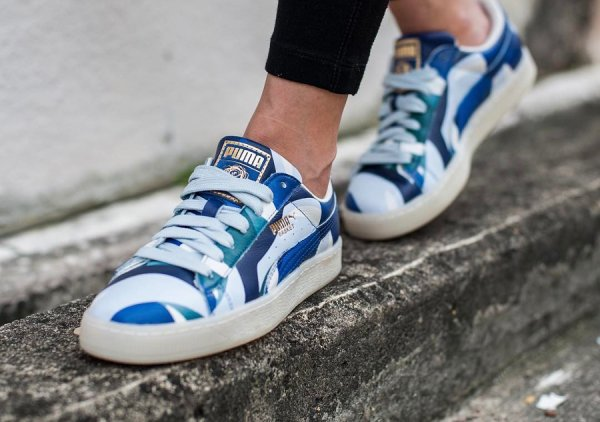 Careaux x Puma Basket Graphic 'Twilight Blue'