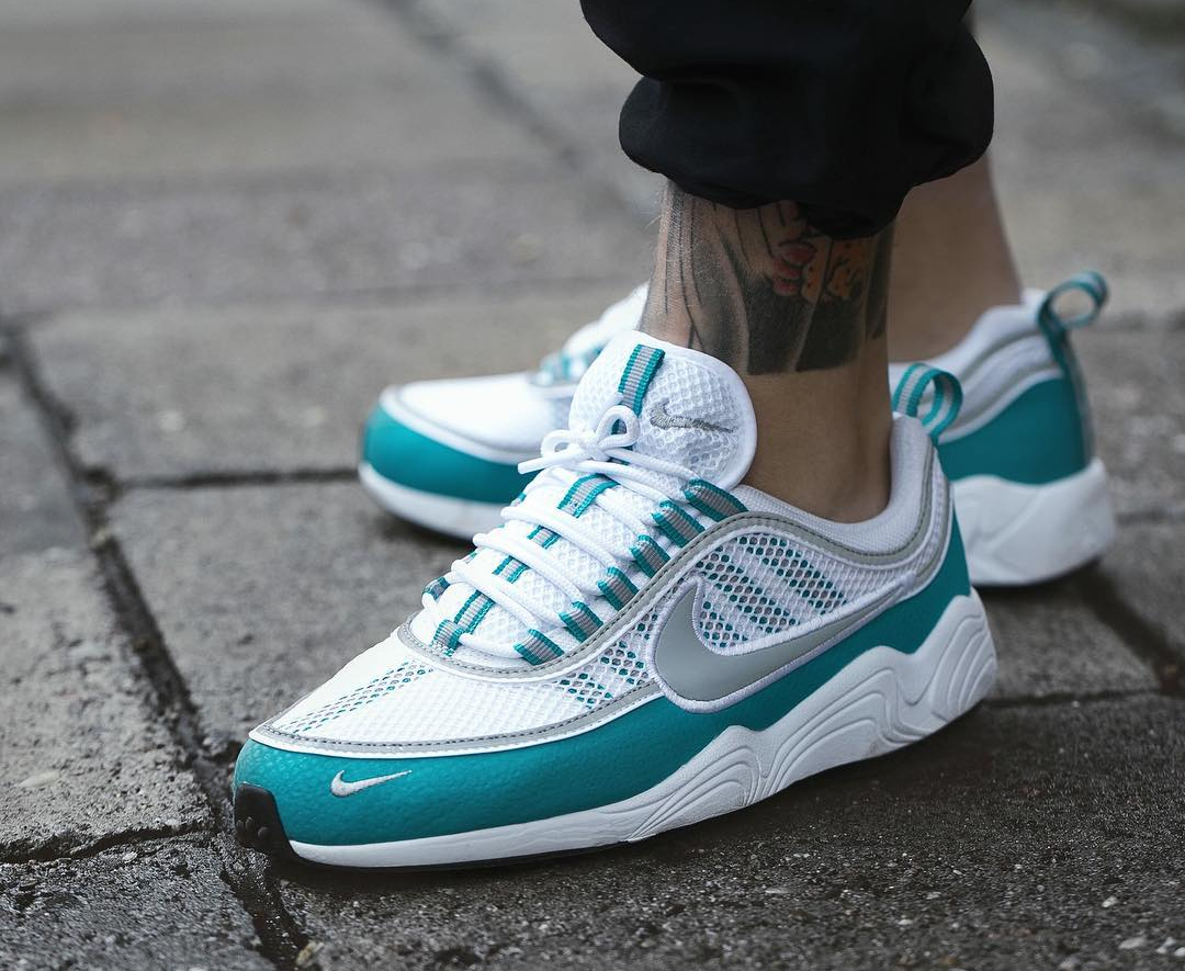 Chaussure Nike Air Zoom Spiridon Turbo Green Summer Pack (4)