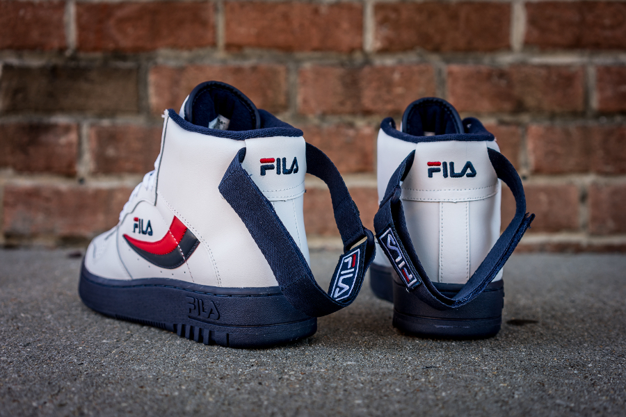 Chaussure Fila FX 100 Mid White Dress Blue (2)