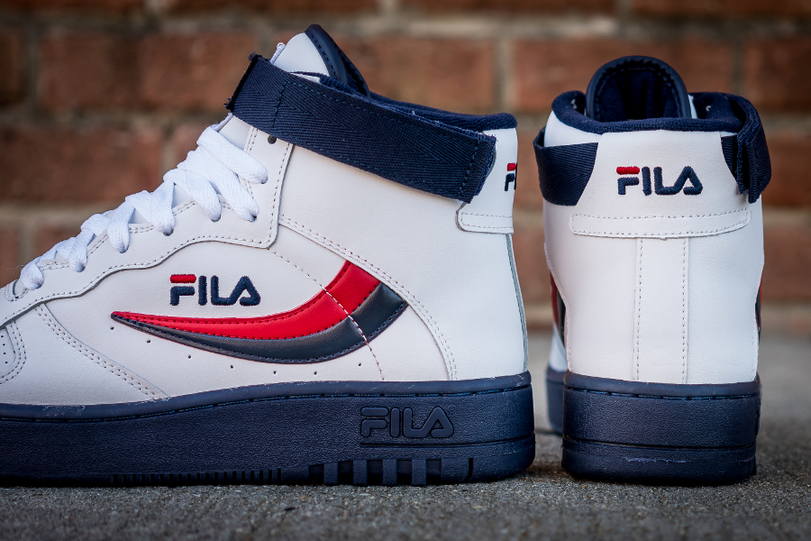 Chaussure Fila FX 100 Mid White Dress Blue (6)