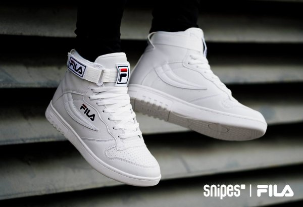 Fila FX 100 Mid 'White' & 'Dress Blue'