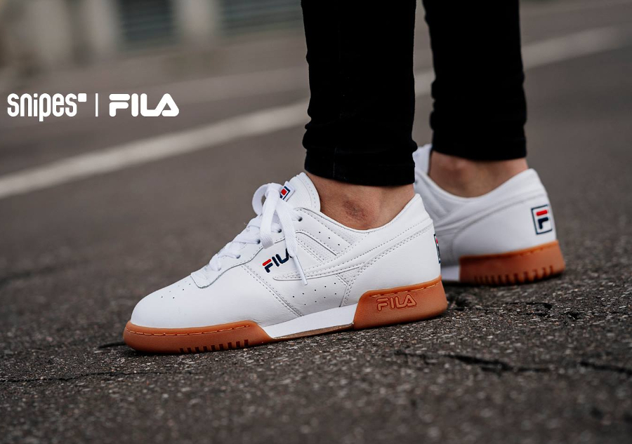 Chaussure Fila Original Fitness White Gum (1)