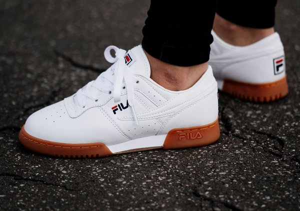 Chaussure Fila Original Fitness White Gum (2)