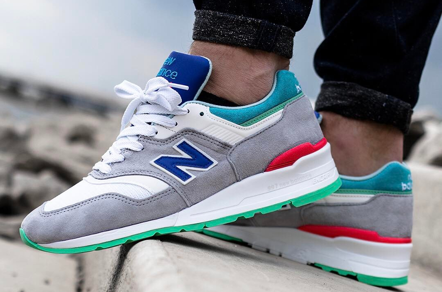 Chaussure New Balance M997CDG Coumarin (Made in USA) (6)