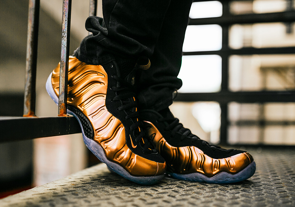 Nike Air Foamposite One 'Copper' Retro 2017