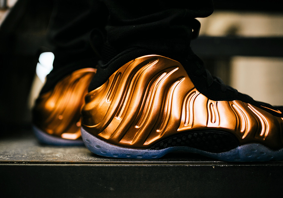 Chaussure Nike Air Foamposite Penny One Copper (20th Anniversary) (2)