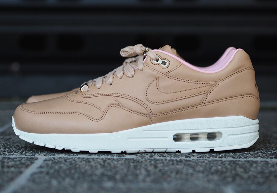Chaussure Nike Air Max 1 ID PRM Leather Vachetta Tan (1)