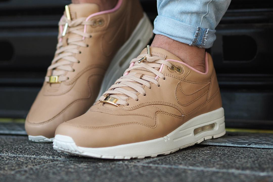 Chaussure Nike Air Max 1 ID PRM Leather Vachetta Tan (3)