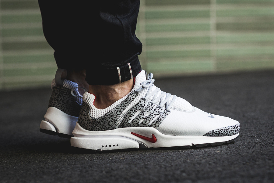 Chaussure Nike Air Presto QS Safari Cement White Grey