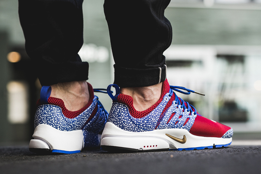 Chaussure Nike Air Presto QS Safari Gym Red (1)