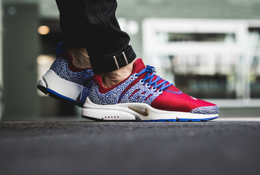 Chaussure Nike Air Presto QS Safari Gym Red