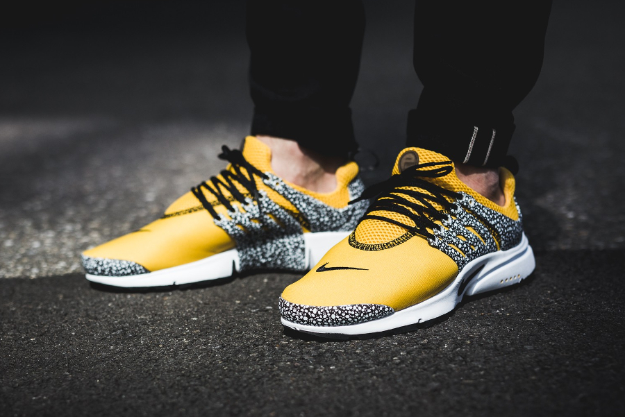regarder 4df9c cbc7c Nike Air Presto QS 'Safari' Jaune 2017 (homme)